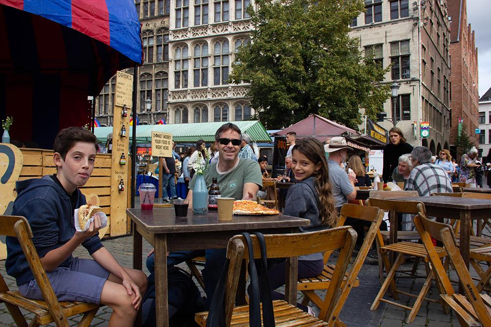 אנטוורפן, בלגיה עם ילדים