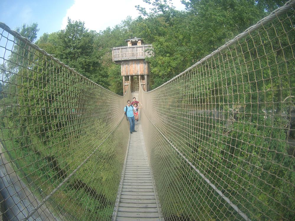 פארק החבלים דורבוי - בלגיה עם ילדים