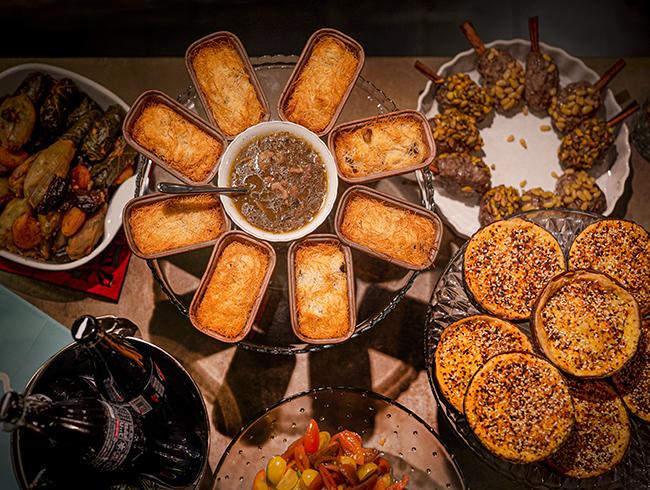 אוכל ביתי של הבשלנית מירה כהן דרך אתר Cookin